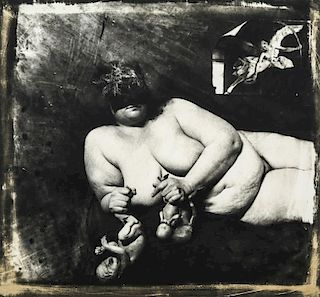 "Joel-Peter Witkin (b. 1939) ""Portrait of the Holocaust, N.M."""