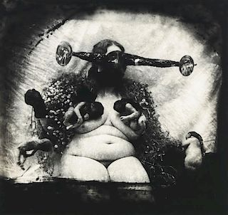 "Joel-Peter Witkin (b. 1939) ""Woman as the Measure of All Things, N.M."""