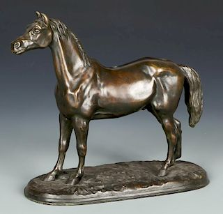 After Pierre-Jules Mene (1810-1879) Horse