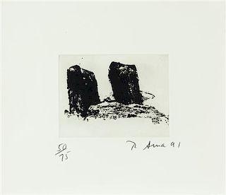 Richard Serra, (American, 1939), Videy Afangar #6, 1991