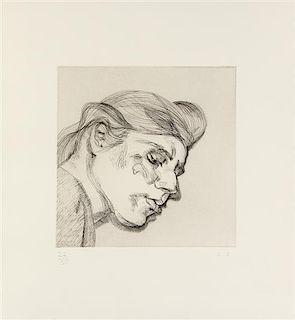 Lucian Freud, (British, 1922-2011), Ib, 1984