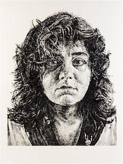 Chuck Close, (American, b. 1940), Marta/Fingerprint, 1986