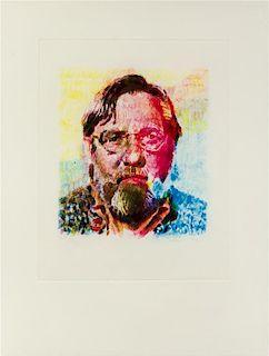 Chuck Close, (American, b. 1940), John II, 1991