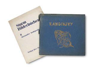 Kandinsky, Wassily Kandinsky. 1901 - 1913. Mit 1 Portrait und 64 Reproduktionen von Werken Wassily Kandinskys. Berlin, Der St