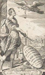 Florus, Lucius Annaeus Historiae Romanorum libri IV. Cum notis integris Cl. Salmasius additus etiam L. Ampelius ex eiusdem bi