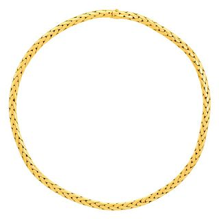 Cartier 18k Gold Necklace with Cartier box