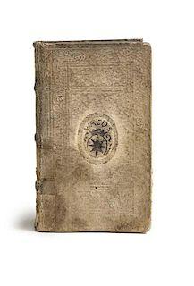 Buerger, JoachimSingularium Observationum Iuridico-Politico Militarium. 4 Tle. in 1 Bd. Mit Holzschnitt-Buchschmuck. Koeln,
