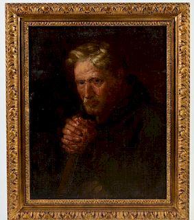 Anthony van Dyck (1599-1641) school of, Old Master Portrait