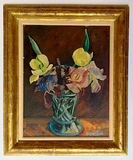 Hayley Lever (American, 1875-1958) Floral Painting