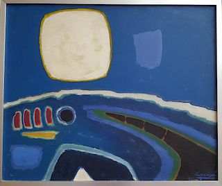 Antonio Guanse Brea (1926-2008) Spanish French Modern Painting