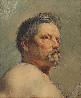 Vasily Petrovic Vereschagin (Russian 1835-1909) painting