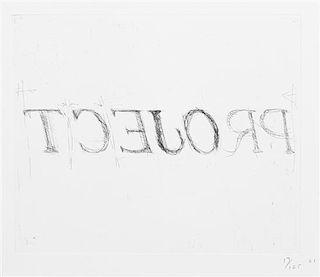 Bruce Nauman, (American, b. 1941), tcejorP lainnetneciuqseS nisnocsiW, 2001 (a suite of three works)