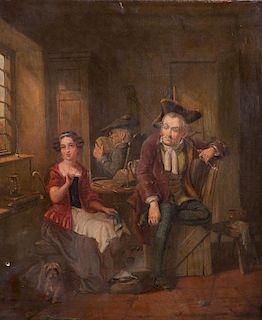 H.A. Taylor 1850 Oil on Canvas