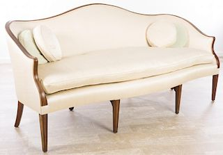 Saybolt & Cleland Inc., Walnut Framed Sofa