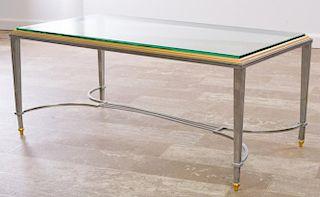 Maison Jensen Style Coffee Table, Glass Top