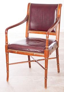 Cabot Wrenn Leather Armchair