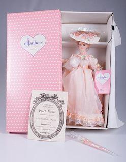 "Effanbee ""Peach Melba"" Porcelain Doll"