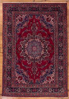 "Antique Iranian Mashad 8' x 11' 6"" Rug"