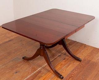 Mahogany Drop Leaf Breakfast Table