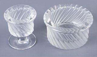 "Lalique ""Swirl (Smyrne)"" Smoking Items"