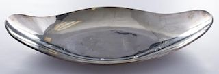 Mexican Sterling Bread Tray