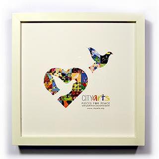 CITYarts Pieces for Peace Artwork - Dove