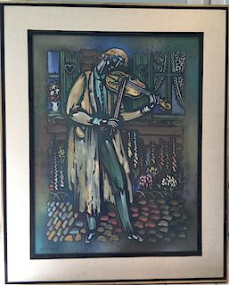 Vytautas Kasiulis Lithuanian French Impressionist Modern Musician
