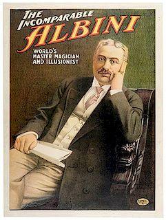 ALBINI, HERBERT. (ABRAHAM LASKI). The Incomparable Albini.