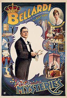 BELLARDI. Bellardi Assisted by the celebrated Medium Miss Elly Scott.