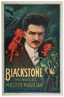 Blackstone, Harry (Henry Boughton). Blackstone. The World's Master Magician.