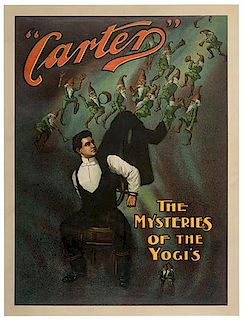 CARTER, CHARLES. Carter. The Mysteries of the Yogi's.
