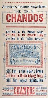CHANDOS. America's Foremost Entertainer. Chandos.