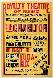 CHARLTON, CHRIS. Royalty Theatre of Magic.