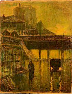 Frank Coburn Early California (?) painting