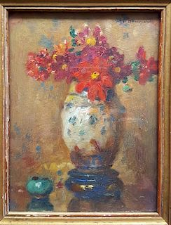 Maurice Bompard  French Impressionist Painting