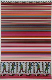 PAOLOZZI, Eduardo. Color Silkscreen From