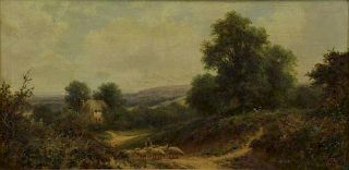MAIDMENT, Henry. Oil on Canvas. Country