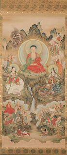 Buddhist T'aenghwa Scroll