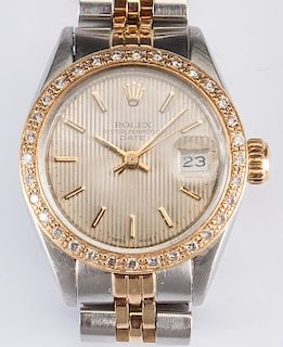 Ladies Rolex w/ Diamond Bezel