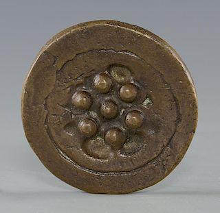 """Marcel Duchamp """"Sink  Stopper"""" Medallion"""