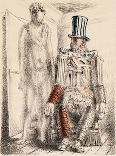 Giorgio de Chirico (Italian, 1888-1978)      Il ritorno del figliuol prodigo