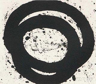 Richard Serra (American, b. 1939)      Venice Notebook 2001, #18