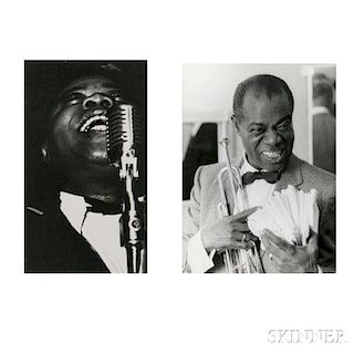 Various Photographers, including Arthur Fellig, called Weegee (Austrian/American, 1899-1968) Ten Press Pictures of Louis Arms