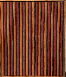 Gene Davis Original Stripe Painting
