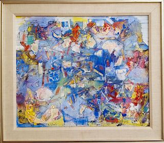 Alexandre Istrati (1915-1991) French Romanian Modern Painting