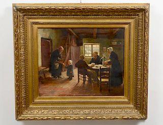 ADOLPH ARTZ (French/Dutch. 1837-1890)