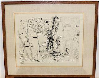 Pierre Bonnard, (French, 1867-1947), Le parc Monceau
