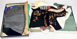 Two European Wool And Cotton Childs Outfits Incl.