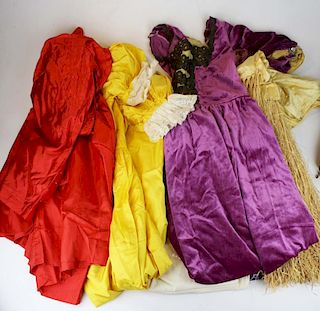 Lot Of Mid 20Th C. Theatrical Costumes Including