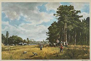 Ogden M. Pleissner (1905-1983) The Quail Hunters